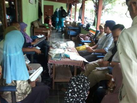 Kegitan Rutin Pos  Yandu Lansia Dusun Brongkol