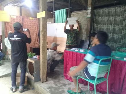 Pemilihan RT 087 Dusun Kadibeso Secara Demokratis
