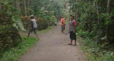 Antisipasi Warga Dusun Ngepek Untuk Menghadapi Musim Penghujan