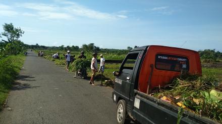 Warga Dusun Bakal dan Dusun Dumpuh Melaksanakan Nawala Camat Sedayu