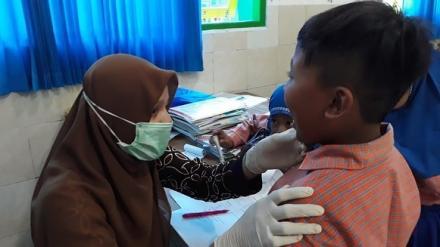 Puskesmas Sedayu 2 Periksa Kesehatan Siswa SD