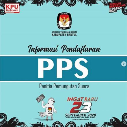 KPU Bantul Buka Pendaftaran PPS