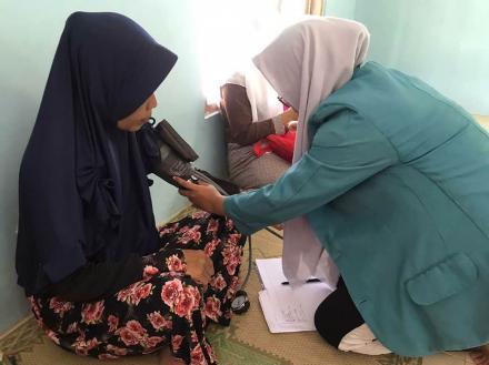 Mahasiswa K3M Universitas Alma Ata Yogyakarta Gelar Cek Kesehatan