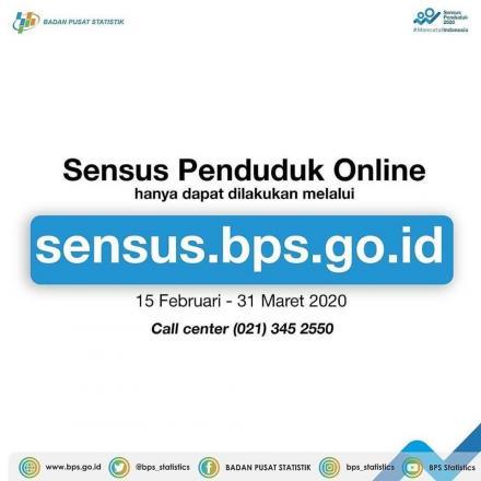 Tata Cara Sensus Penduduk Online