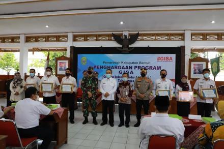 Pelaksanaan Program GISA, Pemerintah Kalurahan Argodadi Raih Penghargaan